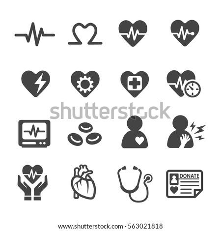 heart icon - Shutterstock ID 563021818