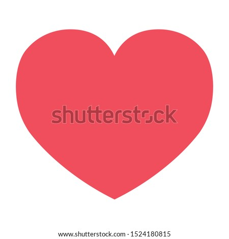 Heart Icon for Romance and Love