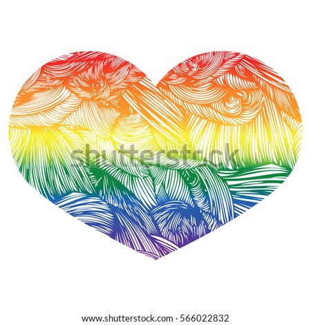 heart icon isolated on white