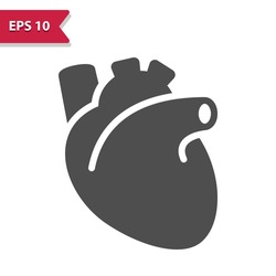 Heart Icon. Professional, pixel perfect icon, EPS 10 format.