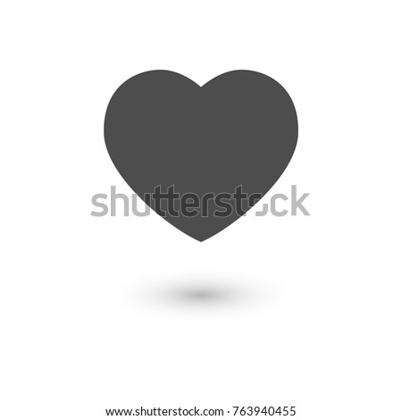Heart icon, symbol of love