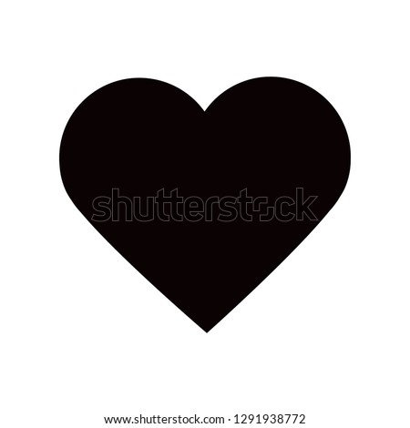 heart icon . Vector  Eps 10