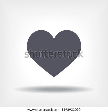 Heart icon  vector 10 eps design