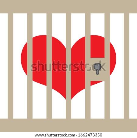 heart in prison  trapped heart