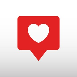heart, like vector icon
