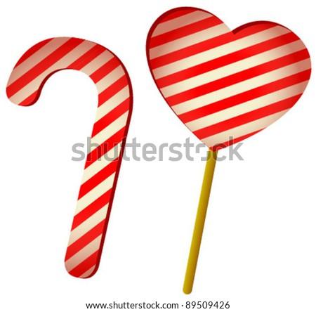 heart lollipop
