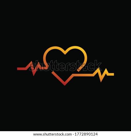 Heart, Love, Unique logo, Creative Art Stockfoto ©