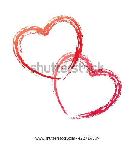 Heart love vector. Valentine card love hearts vector. Sketch designed loves heart. Graphic red hearts love vector. Hand drawn loves hearts. Grunge hearts love vector. Doodle heart loves. Loves heart.