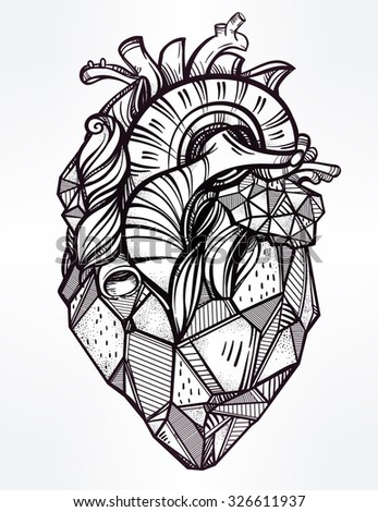 heart of stone  highly detailed