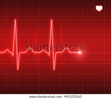 Heart pulse, electrocardiogram