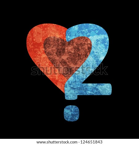 Heart question. Vector