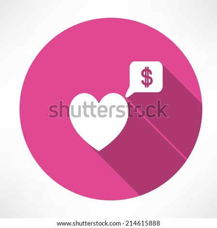 heart said about money