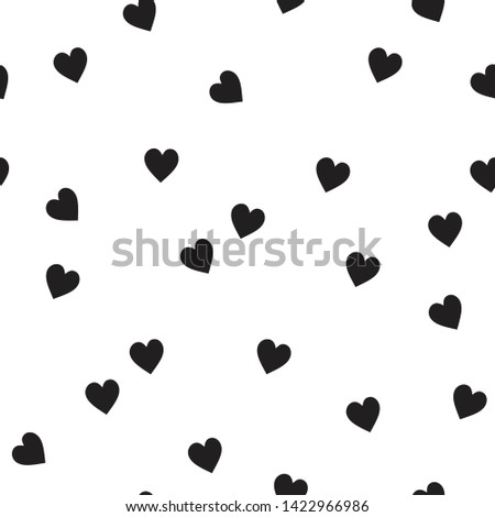 heart seamless all over print