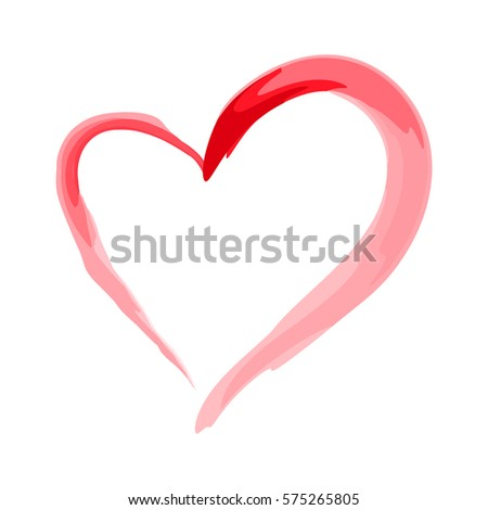 heart shape design for love symbols. valentine's day