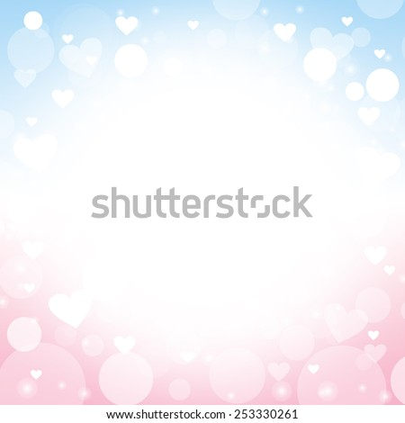 heart shape vector abstract