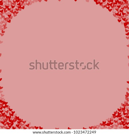 Heart shape vector which consists of isolated elements. Modern style with beautiful elements in heart shape vector. Can be used as print, wallpaper, cards, valentine cards, logo, background and etc. #1023472249