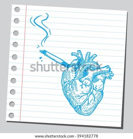 heart smoking