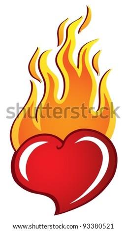 heart theme image 2   vector
