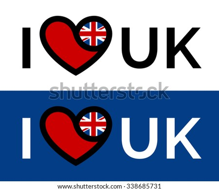 heart united kingdom icon