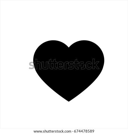 heart  - Vector icon heart  Icon Vector / heart icon /heart  - Vector icon