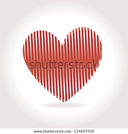 heart Vector Illustration icons symbols Valentine day