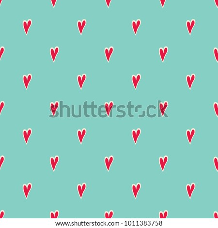 hearts background cute hand