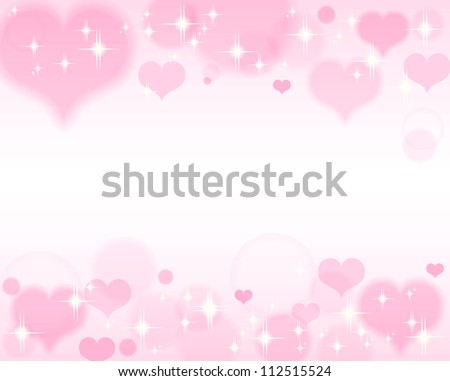 Hearts background Valentine's day