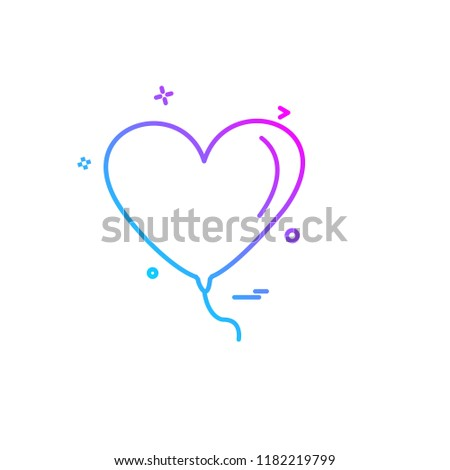 Hearts icon design vector