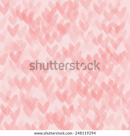 hearts texture vector background