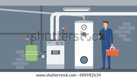 heating system in the house
