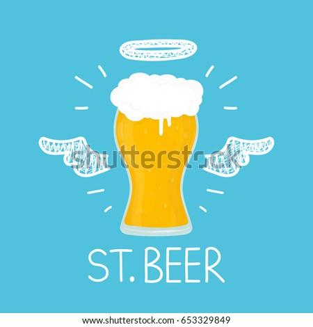 heaven beer concept