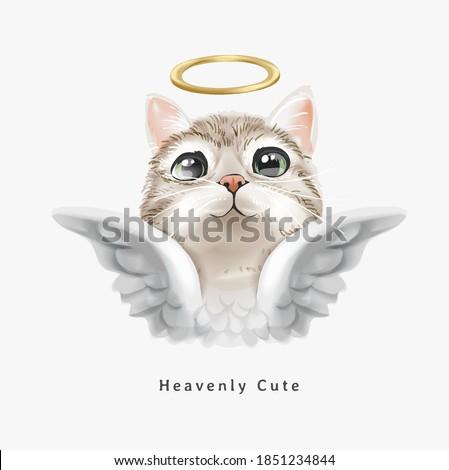 heavenly cute slogan with cute