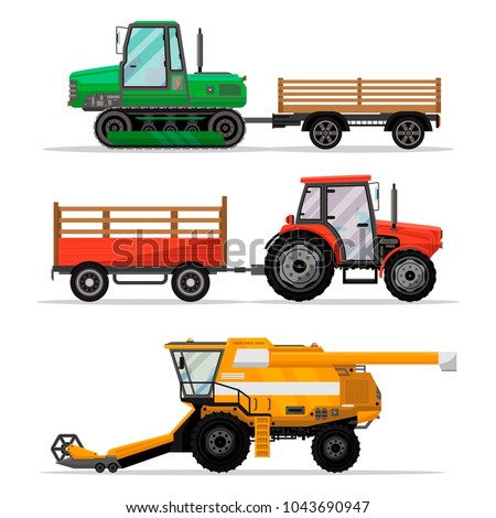 heavy agricultural machinery