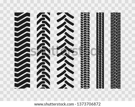 heavy machinery tires track