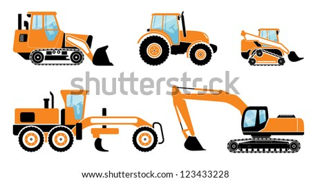 heavy machines set