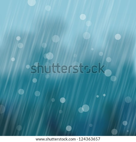 heavy rain background vector