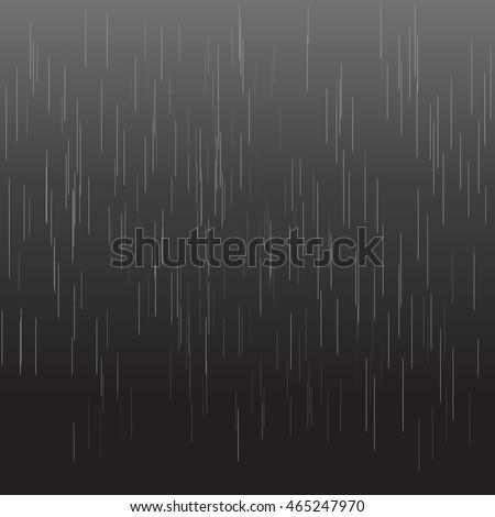 heavy rain vector texture