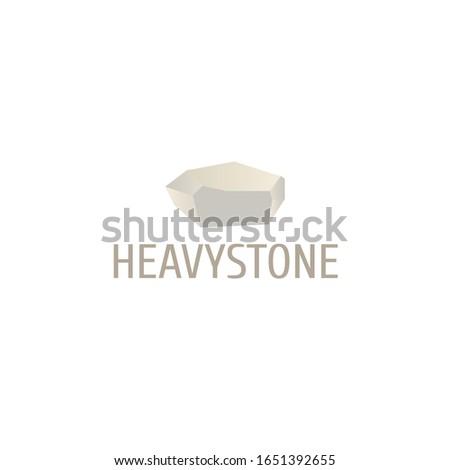 heavy stone gradient color logo