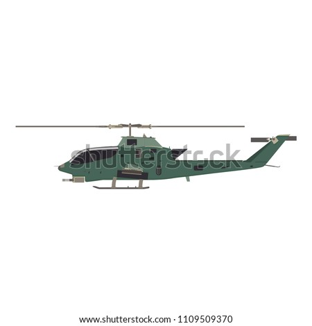 helicopter flat icon graphic