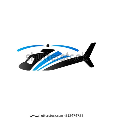 helicopter icon in duo tone