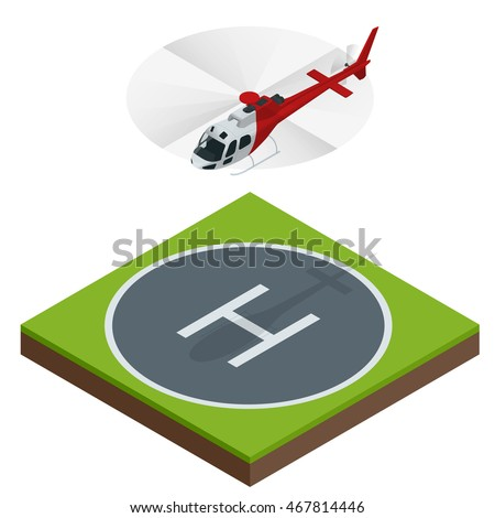 Helicopters fly air transportation. Can be used for advertisement, infographics, game or mobile apps icon.