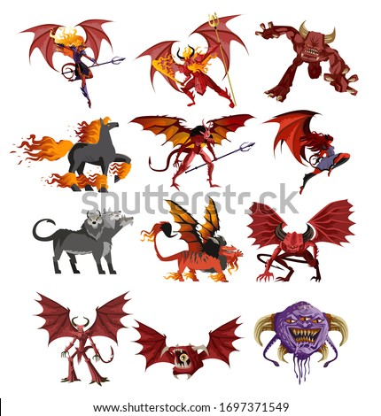 hell demons devils and