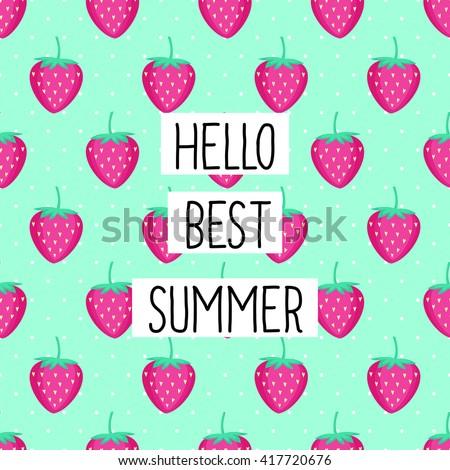 Download Sweet Summer Strawberry Wallpaper 1920x1080  Wallpoper #445573