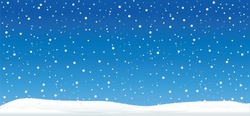 Hello Blue winter landscape snowy funny Snowmen snowman Vector snowdrifts falling falling snowflake snowflakes Merry Christmas Happy New Year xmas Shining snowfall snowball balls december let it snow