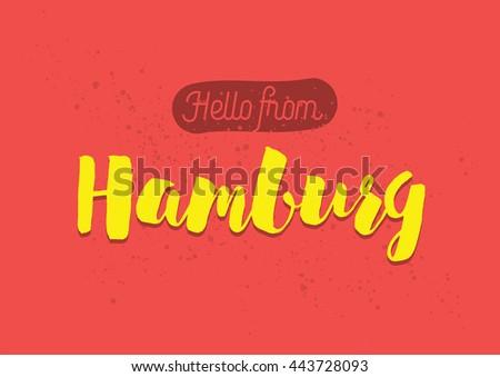 hello from hamburg  germany