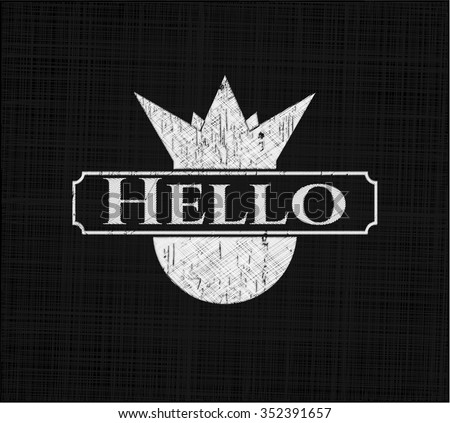 Hello on blackboard