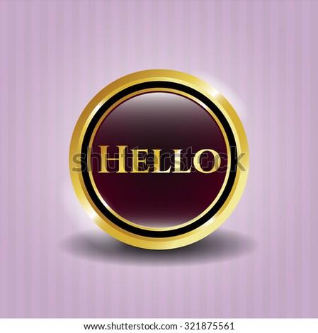 Hello shiny badge