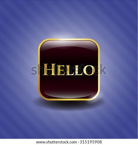 Hello shiny emblem