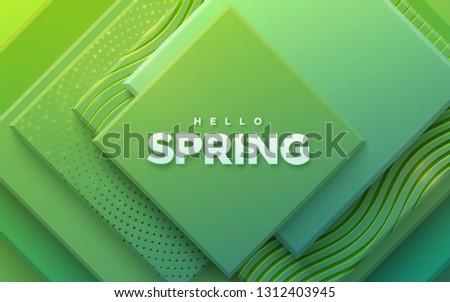 hello spring modern cover