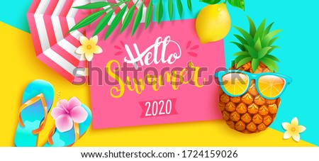 hello summer 2020 bright